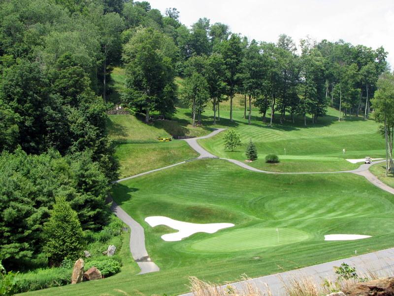 The Mountain Air golf course.