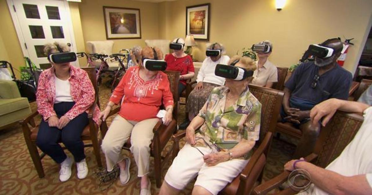 Tech for Seniors:  Virtual Reality