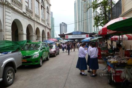 Uczennice w Bangkoku