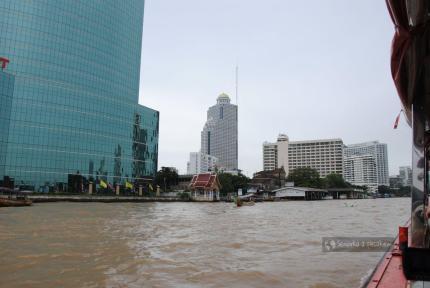 Dzielnica nowoczesnych budynków w Bangkoku
