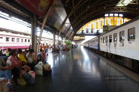 Dworzec kolejowy w Bangkoku