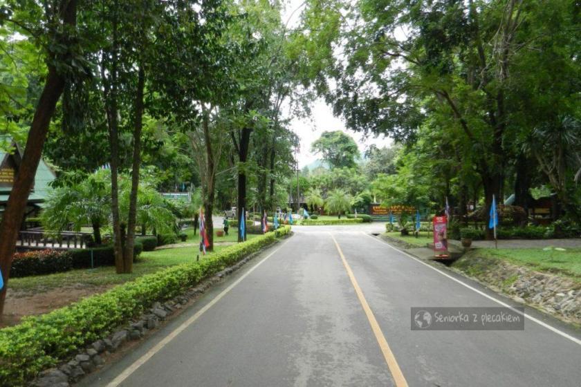 Wejście do Parku Narodowego Erawan