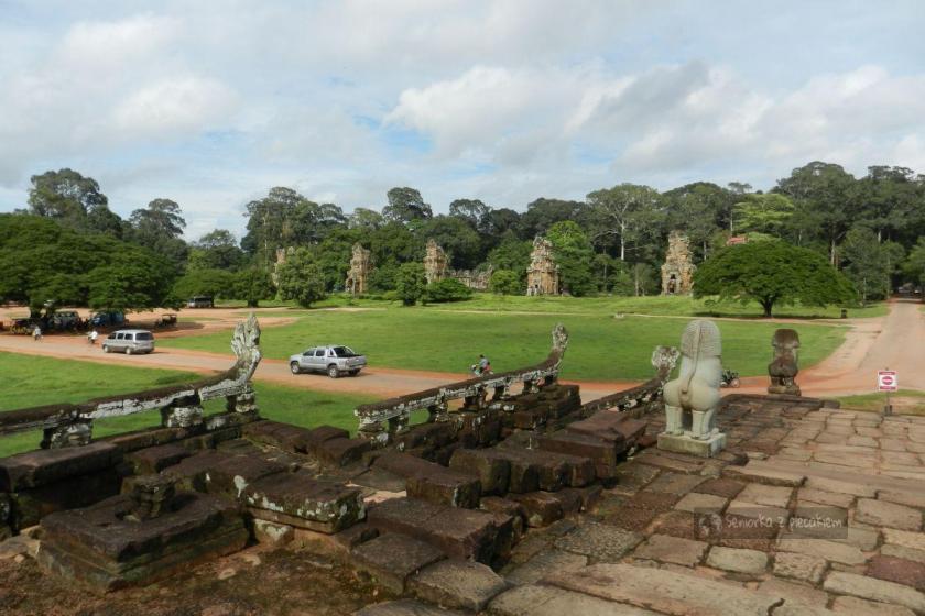 Plac defilad w kompleksie Angkor