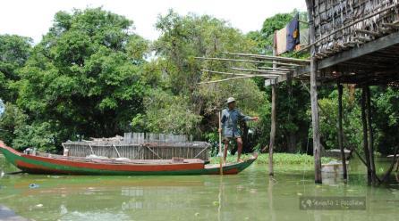 Pierwszy raz w dalekiej Azji – Kambodża – Tonle Sap – cz. 5