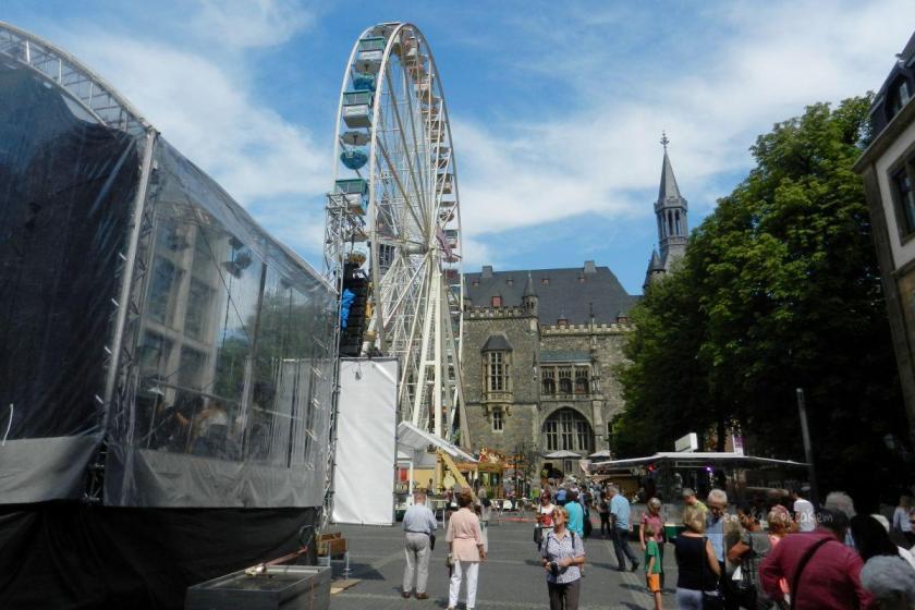 Plac Katschhof w Akwizganie w Niemczech