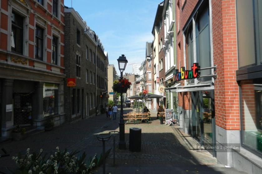 ulica w Aachen