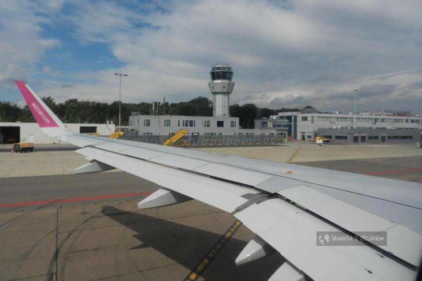 Lotnisko w Maastricht w Holandii