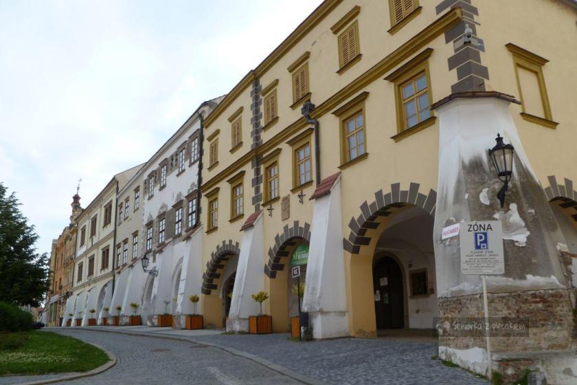 Rynek w Kromeriż w Czechach