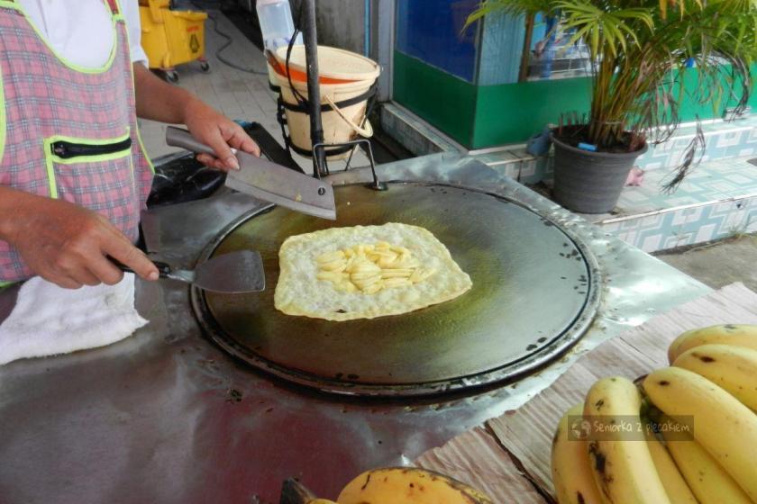 Naleśnik z bananem na KoChang