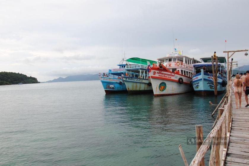 Rejs w pobliżu wyspy KoChang