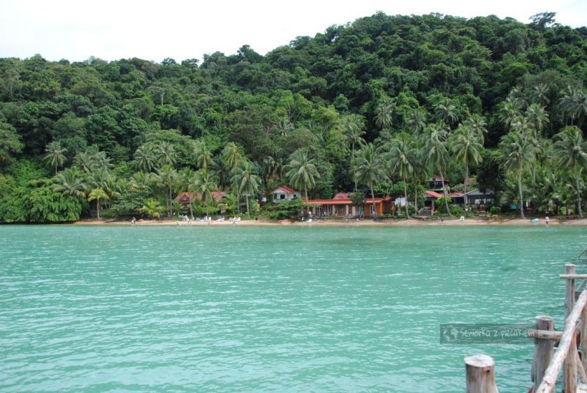 Rejs w pobliżu Ko Chang