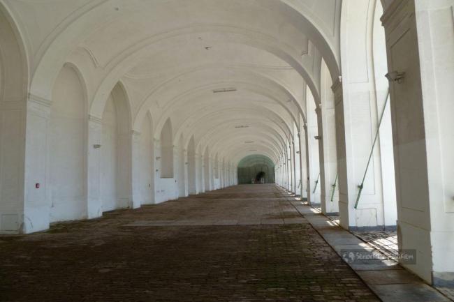 Wnętrze oranżerii w Schonbrunn