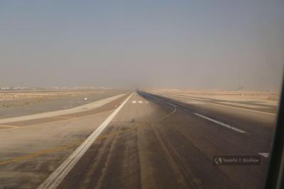 start samolotu w Abu Dhabi