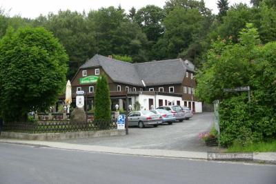Pensjonat w Oybin na Górnych Łużycach w Niemczech