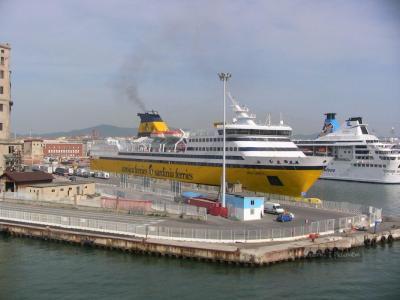 Port w miejscowości Bastia na Korsyce we Francji
