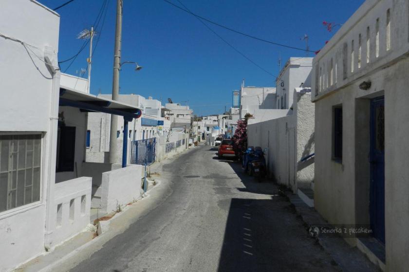 Ulica w Livadi na Serifos