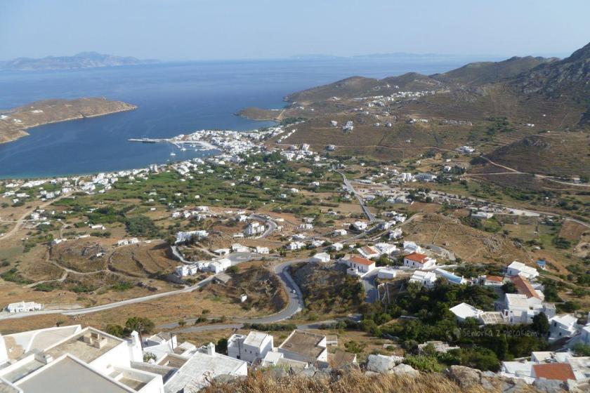 Widok z góry na Livadi