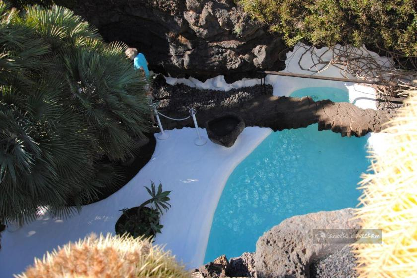 Lanzarote - dom Cesara Manrique - basen