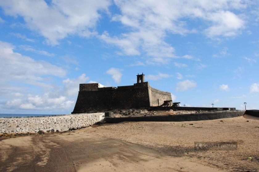 Lanzarote - Aarrecife - zamek