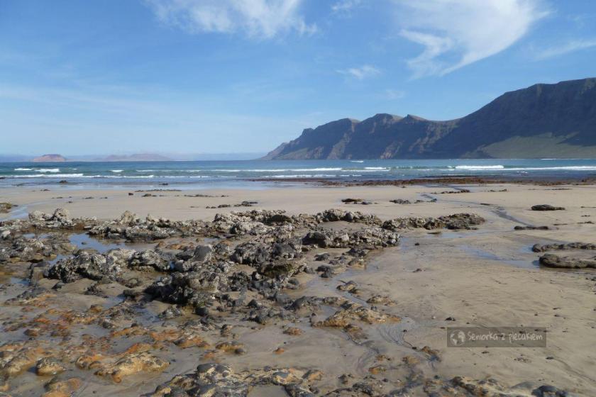 Plaża w Caleta de Famara