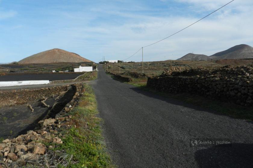 W drodze do Tenesa na Lanzarote