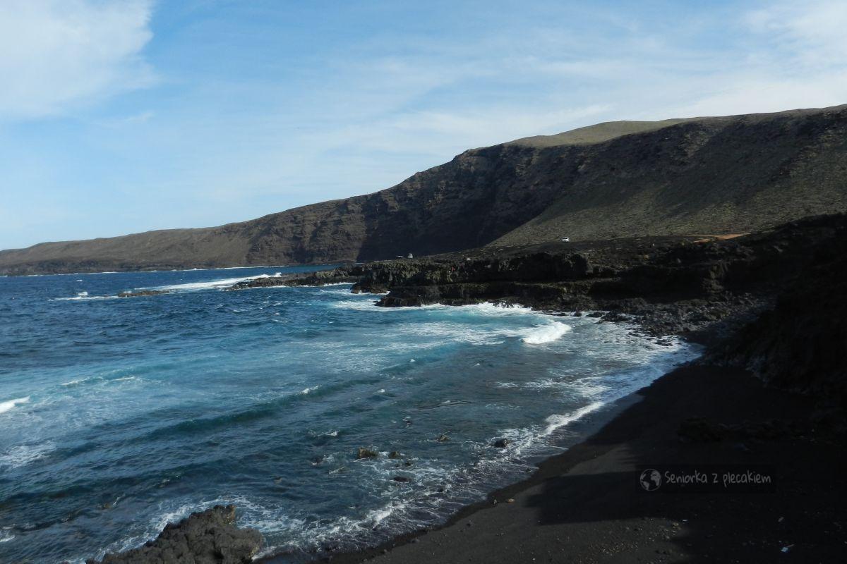 Lanzarote - północne wybrzeże