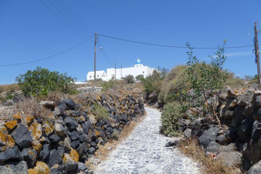 szlak na Santorini