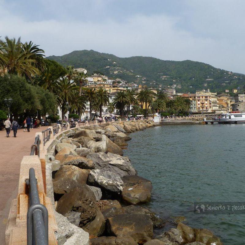 Promenada w Rapallo