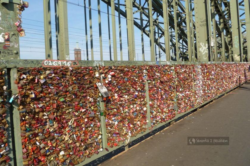 Most Hohenzollernów na Renie w Kolonii