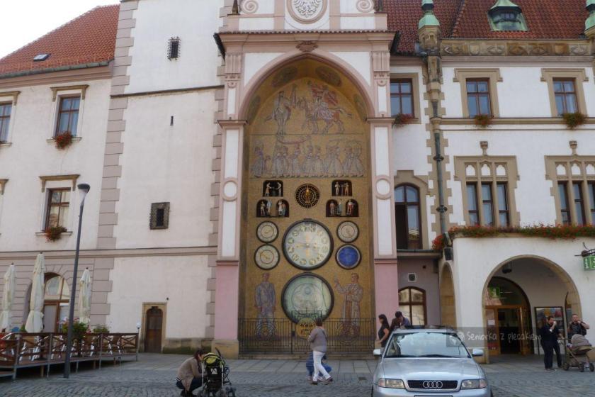Zegar astronomiczny na ratuszu w Ołomuńcu