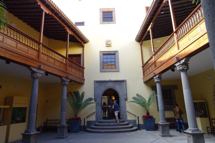 Las Palmas - muzeum Krzysztofa Kolumba