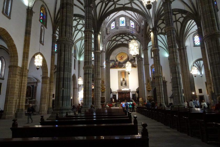 Las Palmas - wnętrze katedry św. Anny