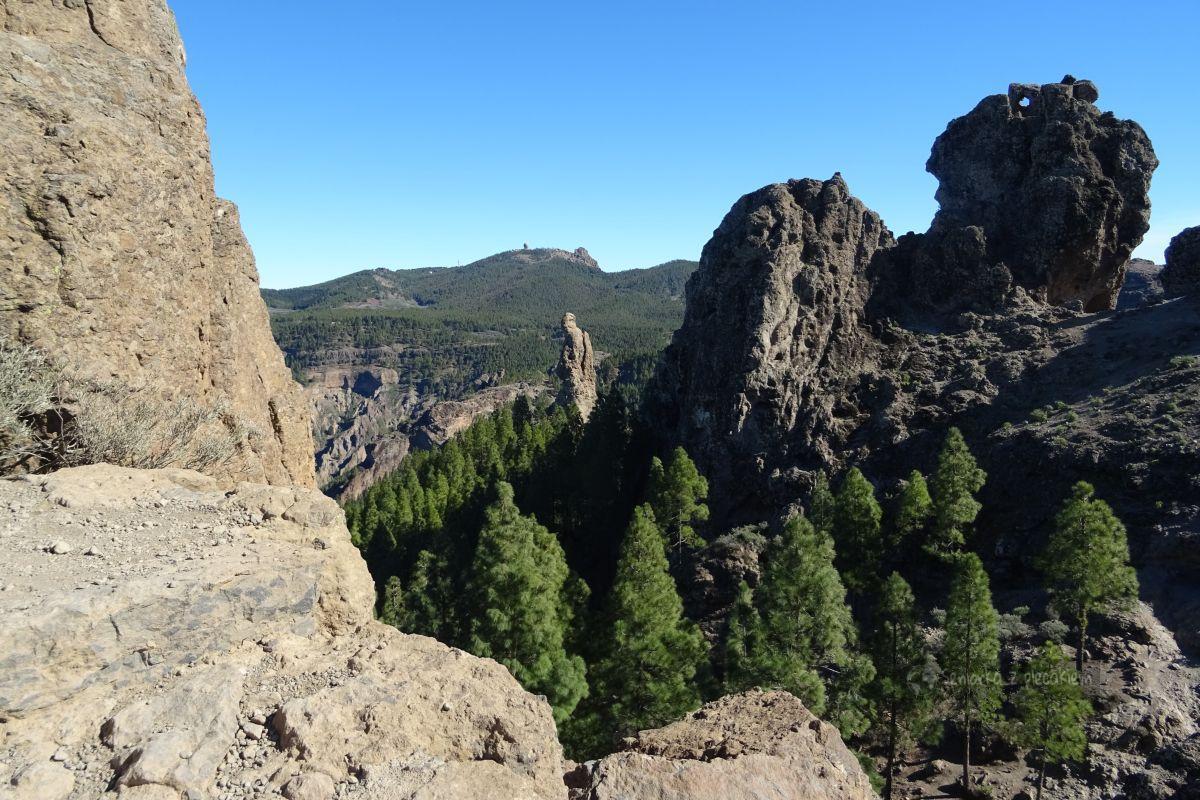 Widok na skały