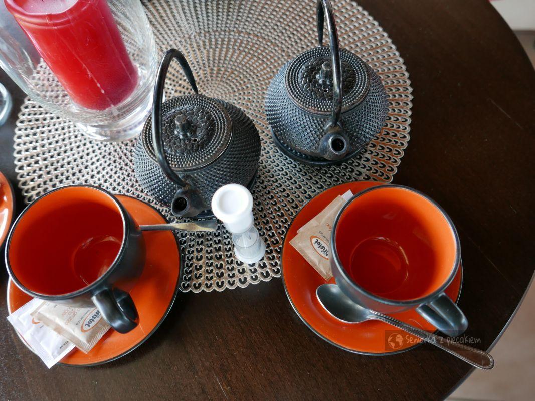 Herbatka w ogrodzie japońskim