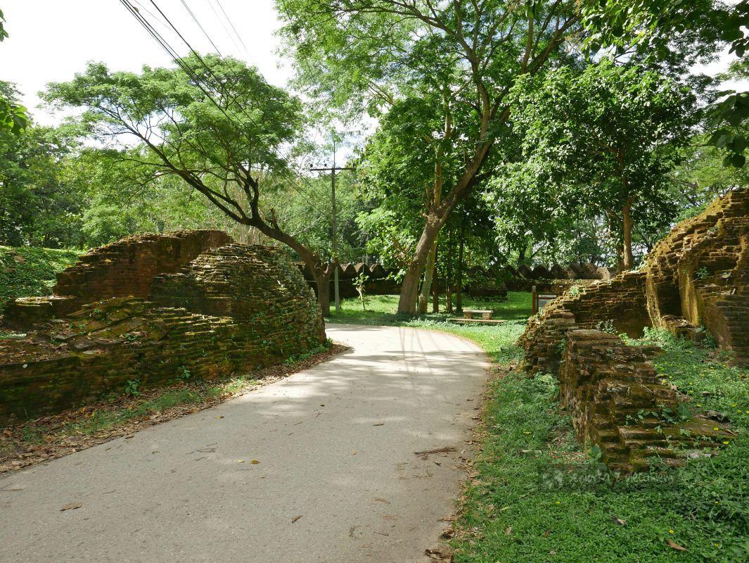 Spacer po zabytkowym Chiang Saen - Tajlandia