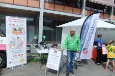 Seniorsaken Skedsmo - stand på Husebymarkedet 3. semptember 2016