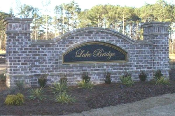 Lake Bridge Marietta GA
