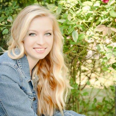 senior portraits austin blonde high school photography session