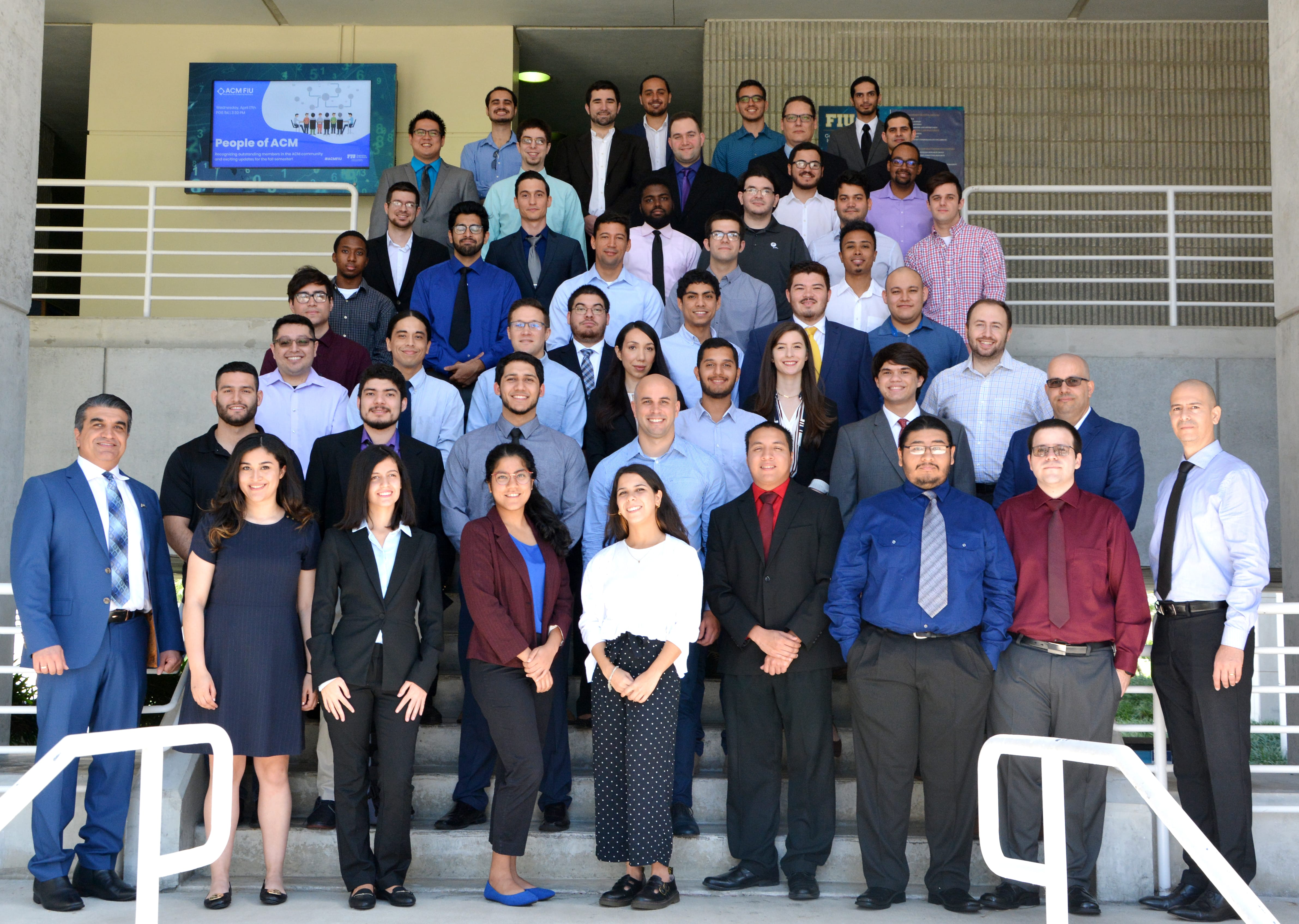 Group photo of Spring 2019 Cohorts