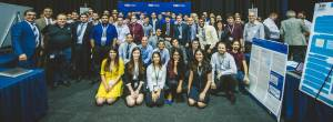 Photo from Senior Project Showcase FIU SCIS Group Photo Spring 2019