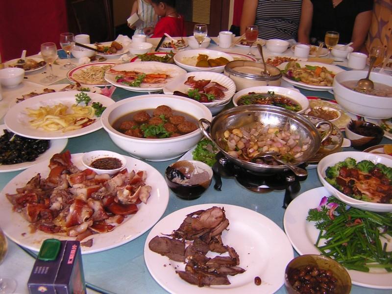 Règles de savoir-vivre à table en Chine
