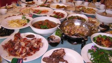 repas en Chine