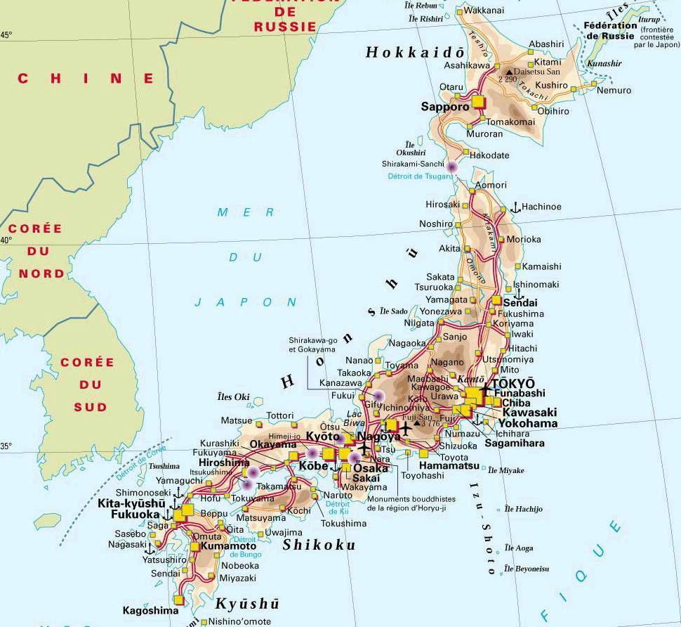Saviez-vous qu'au Japon... 10 faits insolites et peu connus