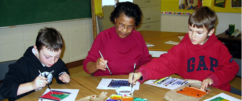 seniors for kids christmas crafts