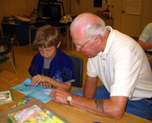 Senior for kids programs