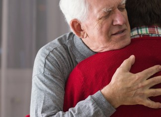 hug a senior, elder abuse
