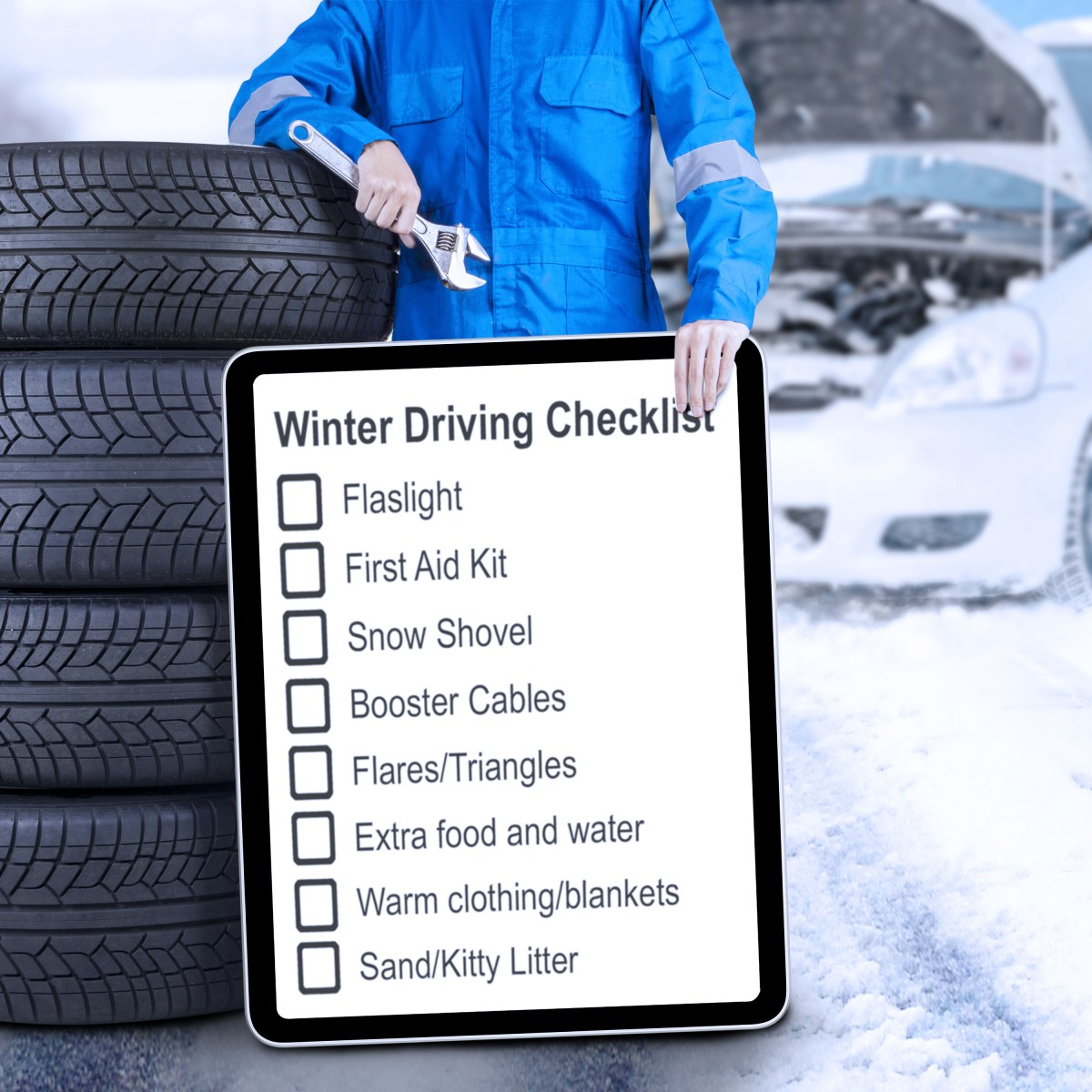 Is Your Car Ready for Winter Driving?