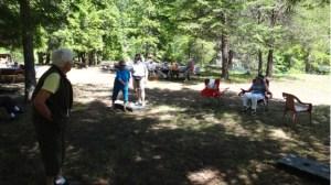 Passmore, BC seniors lawn bowling