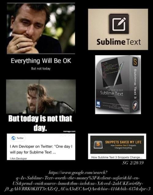 Sublime Text 4