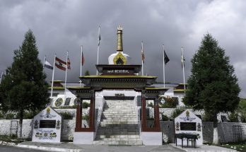 Indo-China war of 1962 on September 20, 2011 in Tawang war memorial, Arunachal Pradesh, north east India.
